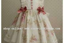 vestidinhos de menina
