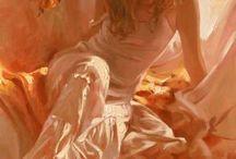 Richard  S. Johnson Americano Pintor.