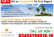 IncisiveTMS (Travel Management System) / Core Features: •HOTEL Local Database •TRANSFER Local Database •SIGHTSEEING Local Database •Booking Confirmation and many more..