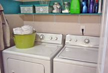 Laundry room / by Jessica Stick-Madere