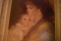 Art gala / Vintage Oil Paintings Carefully Picked Estate Find