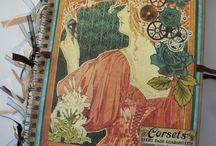 Scrapbookové deníčky / Moje deníčky vytvořené s láskou :)