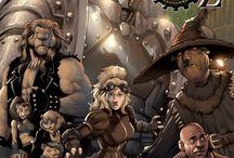 Arcana Comics - The Steam Engines of Oz