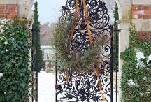 Кружевные ворота и калитки
