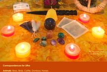 Summer Solstice (Litha) Altars / www.PurpleCrystalWitch.Etsy.com