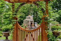 Portões/madeira