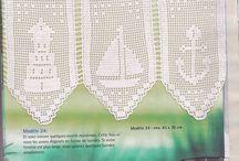filee heegeldamine filet crochet filet au crochet filethäkeln ruutuvirkkaus филейное вязание крючком / by Airi Kaljukivi