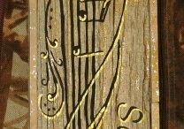 Piastrelle e Lastre decorate ad acrilico