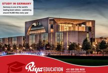 STUDY ABROAD IN GERMANY CONSULTANTS IN HYDERABAD, INDIA - RIYA EDUCATION / Germany is one of the most attractive locations for students worldwide. Students who wish to study in Germany get in touch with Riya Education. #studyinGermany #whystudyinGermany #Germany #educationinGermany #abroadeducationinGermany
