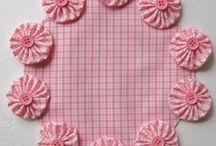 Textil flower