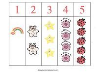 Counting / Fun printables to help your preschooler learn to count!