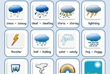 vocabulary of weather