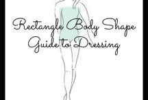 Body shapes / Tips for dressing different body shapes
