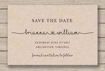 INVITES & SAVE THE DATES