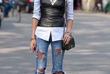 top+jeans+camicia