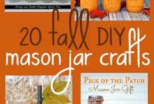 Decor | Fall decoration / Easy crafts and decor inspiration to celebrate Autumn