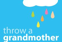 "New Grandma Showers / Party ideas to initiate new grandmas into the ""grandma-hood"""
