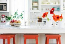 HOME kitchen, dining, and pantry / by Stephanie Simon