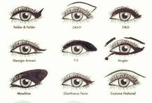 Different kinds of ways to do your liner...