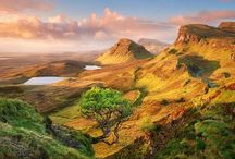 Scotland / The many places I would like to explore there.