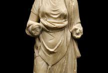 античная  одежда, прически