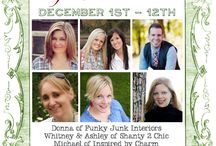 12 Days of Christmas / 12 days of Inspiration from you favorite bloggers! Join us along for the fun including amazing giveaways and a fab link party to wrap up the event!  / by Michael Wurm Jr. | Inspired by Charm