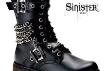 boots / gothic,rock and vintage boots