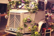 flower truck idea!!