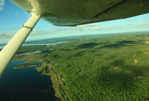 Aerial Photography / Aerial photos of the Yellow Dog Watershed, courtesy of Jeremiah Eagle Eye.