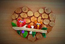 Wooden Handmade Decorations