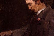 Turn-of-the-Century Male Readers (n.d.) / Undated portraits of men and boys reading, created during the late nineteenth or early twentieth centuries.