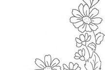 pola bunga embroider