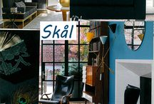 Skal - Color Trend Fall 2016 / Our fixation on the revival of mid-century modern design aesthetics for the past several years continues. New is a movement toward using these familiar themes in modern, but increasingly more elegant ways. Typically associated with a casual lifestyle, we have observed that the full range of Scandinavian themes, when paired with deep azure or cobalt blues, salt and basalt, and the accent of citron yellow, these Nordic cues take on a decidedly more formal and dressy attitude.