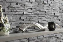 Mur de plaquette de parement