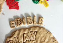 Play dough edible