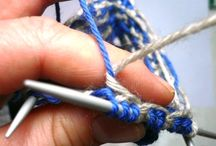 knitting tips / by Janie French
