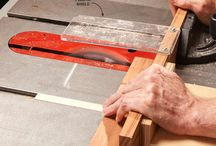 Table saw jigs / DIY jigs for rabble saw woodworking