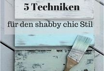Möbel  streichen Schabby