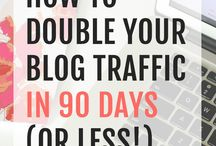 Blogging increse traffic