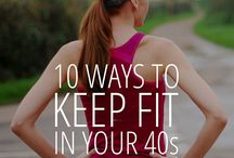Fitness at 40 and beyond / workouts, sports,nutrition