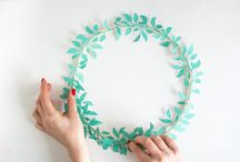Christmas Wreaths / DIY and buyers guide to Christmas Wreaths