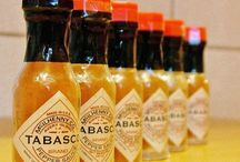 Tabasco  / Tabasco pictures, recipes, history and more. Love Tobasco products!
