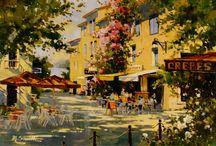 my favorite oil paintings