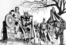 dessin super héros