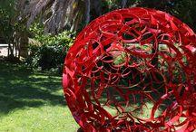 Art & Sculpture Design - RED