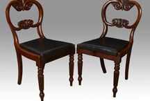 William 1V dining chairs