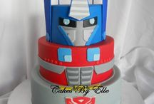 Transformers Cakes