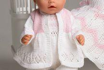 Dukkeklær / inspirasjon og mønster til dukkeklær