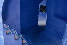 Colourful Blue