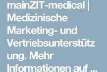 """mainZIT medical / mainZIT medical hilft bei der Positionierung medizinischer Produkte und bietet die entsprechende Marketing- und Vertriebsunterstützung. Wir verstehen uns als """"Übersetzer"""" zwischen Arzt und Patienten und sind Ansprechpartner für Ärzte aus den Bereichen  Venen/Chirurgie und Ästhetik/Dermatologie."""